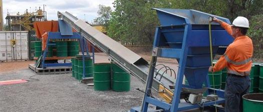 Sanki Conveyors, Trough Belt Conveyor, Sancon Conveyors, Sanwest